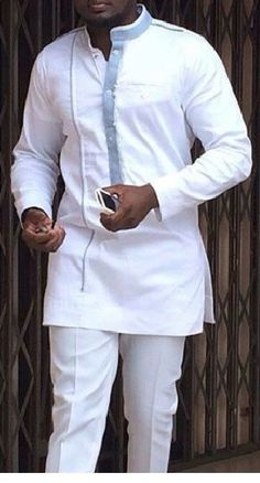 Worry no more my man! Because we've got the most Stylish Wedding Suit Styles For Nigerian Men which you could choose from the best naija men wedding suits styles of African Attire For Men, African Men Fashion, African Wear, African Women, African Dress, African Style, Ankara Fashion, Africa Fashion, African Fabric