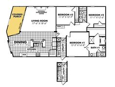 double wide mobile home floor plans | bedroom double wide mobile