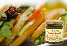 The mustard connoisseur will appreciate this delicious cross between the grainier, French mustard and the hotter English variety. Natural ingredients only. Bread And Butter Pudding, Aromatic Herbs, Gourmet Gifts, Garlic Salt, Lemon Grass, Salad Dressing, Fresh Rolls, Mustard, Herbalism