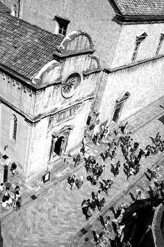 Dubrovnik, Croatia (Black & White)