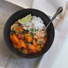 Red Curry Vegan Soup