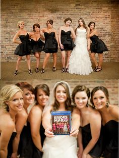 Bridesmaids Bridal Party Pose! Love this! DEFINITELY DOING THIS!!