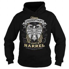 I Love HARREL HARRELBIRTHDAY HARRELYEAR HARRELHOODIE HARRELNAME HARRELHOODIES  TSHIRT FOR YOU Shirts & Tees