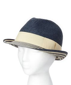 Another great find on  zulily! Navy Stripe Fedora  zulilyfinds Nautical  Stripes 852089838747