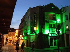 Temple Bar is more than just pubs - it has quirky shops, awesome food, fashion... #LoveDublin