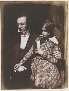 Adolph Saphir and His Tutor, Rev. Daniel Edward, ca. 1844  David Octavius Hill  (Scottish, Perth 1802–1870 Edinburgh)  From the Met.    Behold boy's clothes! And he's older, too, I suppose.