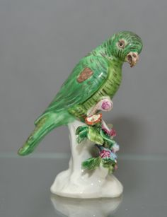 Bow Parrot (c. 1760 England)