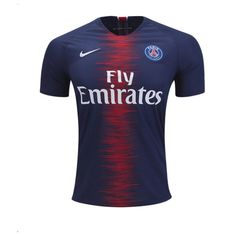 4799fc880 PSG Home NEW NIKE 2018-2019 SOCCER FOOTBALL JERSEY BNWT