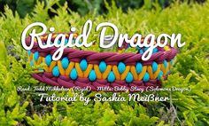 This guy sells paracord in Germany and has awesome tutorials on his site. Just beautiful and unusual weaves! Rigid Dragon | Swiss Paracord