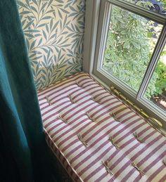 Blinds For Windows, Window Blinds, Window Seats, Rainbow House, Kid Spaces, Bay Window, Soft Furnishings, Home Decor Inspiration, Girl Room