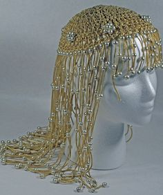 Halloween #Cleopatra Headdress or just for fun! from Annswhimsey on Etsy. LOVE this!