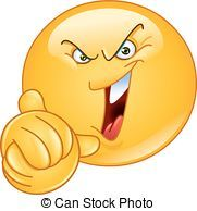 Illustration of Emoticon laughing evilly and wringing his hands vector art, clipart and stock vectors. Wütendes Emoji, Smiley Emoticon, Emoticon Faces, Emoji Love, Smiley Faces, Facebook Smileys, Images Emoji, Funny Emoticons, Animated Emoticons