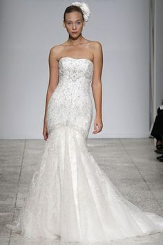 Beautiful!!!   Much rather a sweetheart neck line !