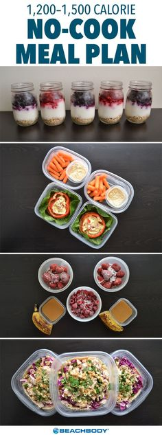 Sometimes the last thing we want to do is turn on our stove or oven. But Sunday night was fast approaching, and we knew I would regret skipping our meal prep for the week if we didn't get our act together. That's when we had the brilliant idea of doing a no-cook meal prep. // no cook // meal prep // fitness // nutrition // food // healthy // eats // snacks // Beachbody // http://BeachbodyBlog.com