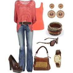Everyday Cute, created by goharv on Polyvore