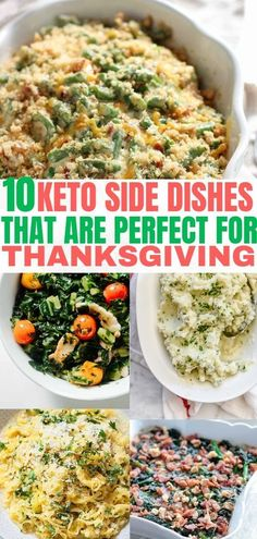 Delicious Keto side dishes that are low carb and easy to make. These keto recipe… Delicious Keto side dishes that are low carb and easy to make. These keto recipe sides are perfect for Thanksgiving and other holiday dinners! Keto Foods, Ketogenic Recipes, Diet Recipes, Healthy Recipes, Recipes Dinner, Diet Tips, Breakfast Recipes, Breakfast Gravy, Diet Ideas
