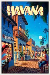 ★ Come to Havana, Cuba - vintage poster. I ♥ Havana… Cuba Vintage, Vintage Ads, Vintage Havana, Vintage Gifts, Vintage Style, Old Poster, Poster Ads, Travel Ads, Cuba Travel