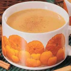 Pumpkin Soup -- My husband thought this sounded gross, but he changed his tune after just one spoonful. It's just heavenly—and not too pumpkin-y either. And it's really quick. I might try replacing some of the chicken broth with dry sherry for more complex flavor.   -Catherine Cassidy