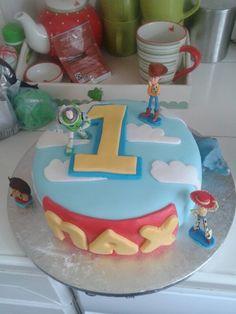 Toy story birthday cake for birthday Toy Story Birthday Cake, 2nd Birthday, Cakes, Toys, Desserts, Activity Toys, Tailgate Desserts, Deserts, Cake Makers