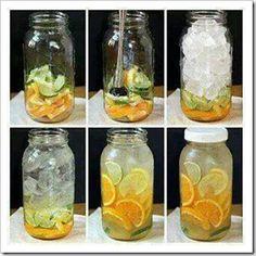 Agua para eliminar la grasa
