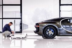 The Factory Where The $2.6m Bugatti Chiron is Made is Out-Of-This-World - UltraLinx