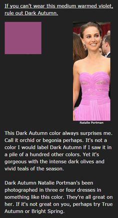 Deep Autumn's Medium Warmed Violet