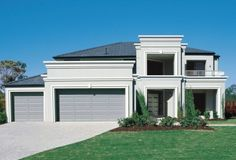 Clarendon Home Designs: Kirribilli  Milan Facade. Visit www.localbuilders.com.au/builders_victoria.htm to find your ideal home design in Victoria