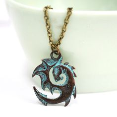 Mother Of Dragons Necklace at shanalogic.com #gameofthrones #dragons #fantasy