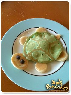 And I thought green pancakes for St. Patrick's day was creative!