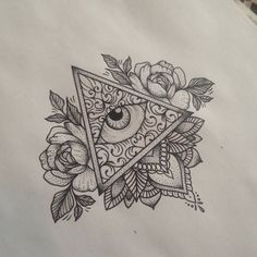 New Eye Tattoo Triangle Illustrations Ideas 3rd Eye Tattoo, Third Eye Tattoos, All Seeing Eye Tattoo, Eyebrow Tattoo, First Tattoo, Tiny Tattoo, Dreieckiges Tattoos, Body Art Tattoos, Tattoo Drawings