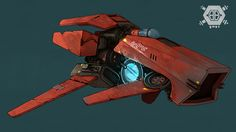 ArtStation - Boiling Bolt : Spaceships (good guys), Constant Le Gall