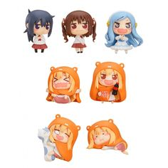 Himouto! Umaru-chan Mini Figures 4 cm Assortment (8) ( Good Smile Company )