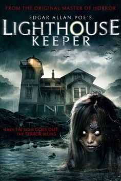'When the light goes out, the terror begins' Lighthouse Keeper – aka Edgar Allan Poe's Lighthouse Keeper – is 2016 supernatural horror film directed by Benjamin Cooper (Primitive) from a screenplay by Carl … Best Horror Movies, Classic Horror Movies, Scary Movies, Hd Movies, Movies To Watch, Terrifying Movies, Site Pour Film, Film Vf, Don Delillo