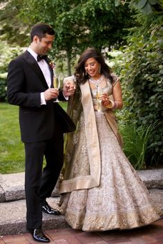 Indian wedding lehenga. Great for the wedding reception.