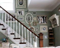 Home Decor Rustic Staircase. 階段のインテリアコーディネイト実例
