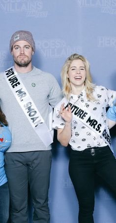 "Look at his face.. His thought,  ""The show is called Arrow not, Felicity Smoak"