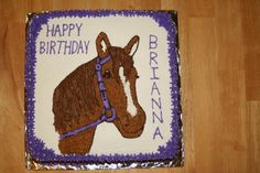 Horse cake Horse Party, Cowgirl Party, Birthday Cakes, Birthday Ideas, Happy Birthday, Cupcake Cakes, Cupcakes, Horse Cake, Horse Birthday