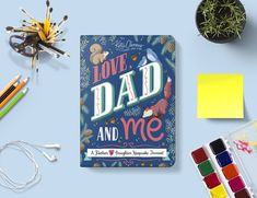 Love, Dad and Me: A Father and Daughter Keepsake Journal Dad N Me, Love Dad, Father Daughter Relationship, Daddy Daughter, Stocking Stuffers For Girls, Devotional Journal, Cool Journals, Pregnancy Journal, Father And Son
