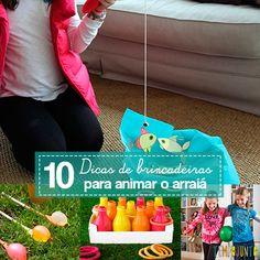 Ideias de brincadeiras de festa junina que são baratas e fáceis de fazer. Perfeitas para uma arraial em casa com as crianças.