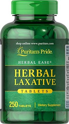Herbal Laxative, 250 Tablets