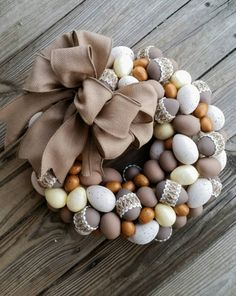 Hey, I found this really awesome Etsy listing at https://www.etsy.com/listing/226347759/easter-wreath-rustic-wreath-egg-wreath