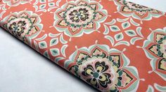 Riley Blake Designs Valencia Flower by BlackBirdFabrics Coral Design, Riley Blake, Quilting Projects, Valencia, Fabrics, Buy And Sell, Quilts, Sewing, Flowers