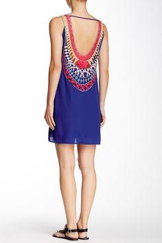 Deep Cut Crochet Dress by Pink Owl | nordstrom rack
