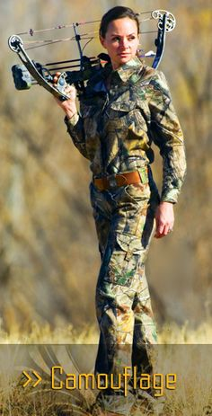 SHE Outdoor Apparel - Her Adventure Starts Here:  Camouflage Wear