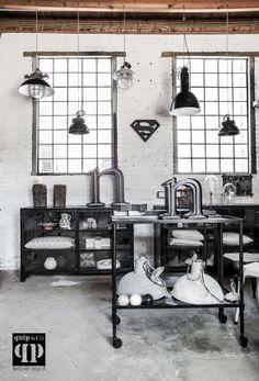 Industriële trolley & 462 best interior   industrial images on Pinterest in 2018   Nordic ...