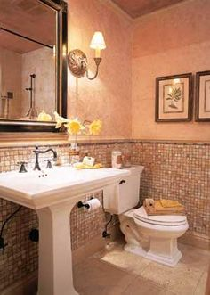 Spa Looking Small Bathrooms | Decorating The Guest Bath