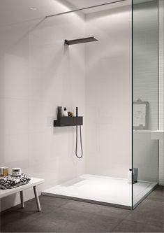 Essenziale - Revestimiento cerámica blanco para baño | Marazzi