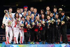 Awards ceremony at World Team Trophy