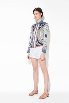 Quiero esta camisa de Día de Madres. Lookbook - April -  #Zara