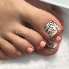©: I do nails, what's your superpower? Acrylic Toe Nails, Pink Toe Nails, Toe Nail Color, Cute Toe Nails, Pink Toes, Hot Nails, Toe Nail Art, Pretty Nails, Nail Colors